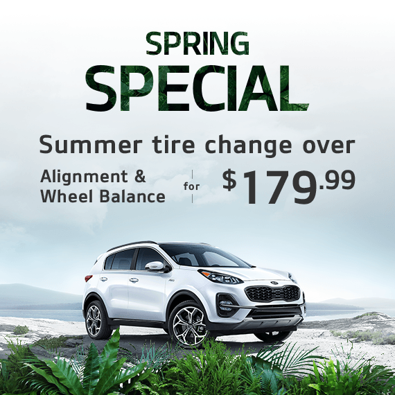 Spring Special – Summer Tire Change Over