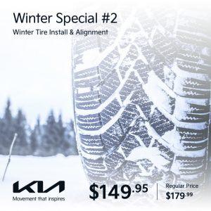 Leggat Kia Winter Special 2 banner